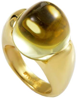 Ippolita Heritage  18K Yellow Gold Quartz Ring