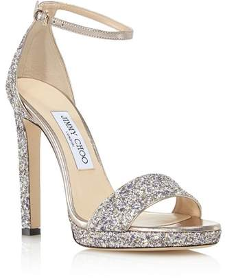 Jimmy Choo Women's Misty 120 Ankle Strap High-Heel Sandals