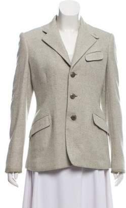 Ralph Lauren Silk and Wool Blend Blazer