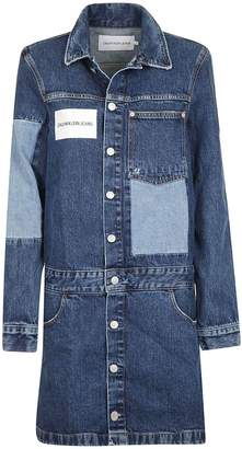 Calvin Klein Jeans Denim Shirt Dress