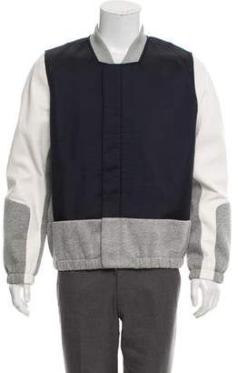 Tim Coppens Leather Accented Bomber Jacket
