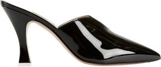 ATTICO SHOES Attico Monica Patent Leather Slides Black 36