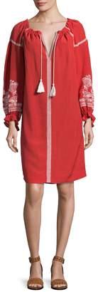 Maje Women's Blouson Shift Dress