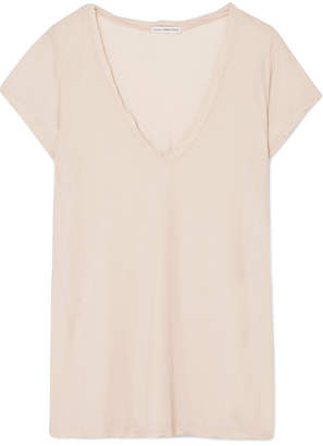 James Perse Cotton-jersey T-shirt - Beige