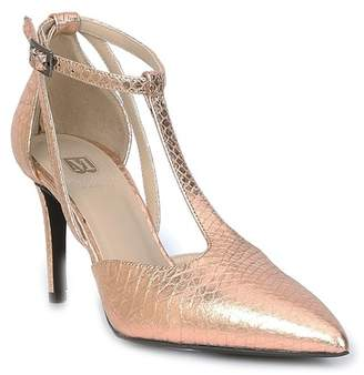 Bruno Magli M by Malena Snake Embossed Leather T-Strap Pump