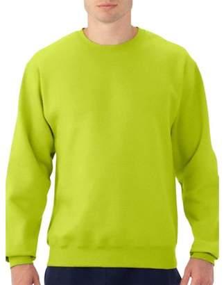 Fruit of the Loom Men's Dual Defense EverSoft Crew Sweatshirt