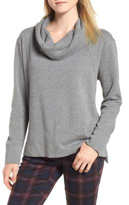 Caslon Cowl Neck Sweatshirt (Regular & Petite)