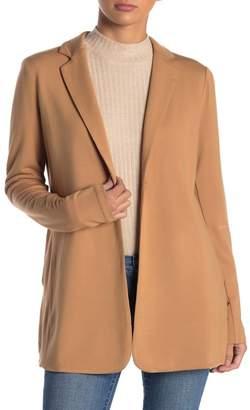 Magaschoni M Single Button Knit Blazer