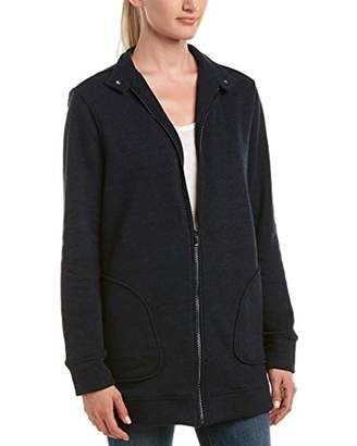 Three Dots Women's Triblend Fleece Loose Long Jacket