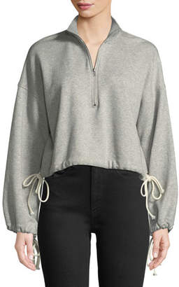 A.L.C. Gallagher Half-Zip Pullover Sweatshirt
