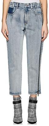 3.1 Phillip Lim Women's Zipper-Detailed Crop Jeans