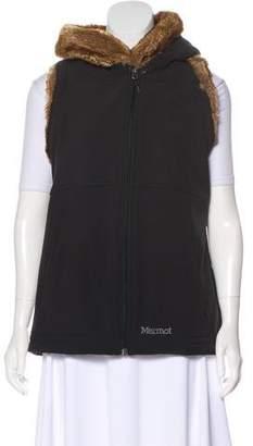 Marmot Hooded Zip-Up Vest
