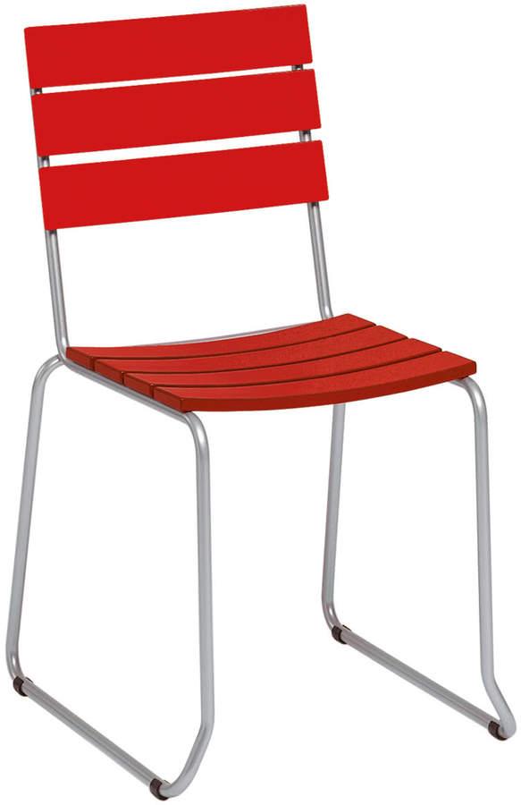 Weishäupl - Balcony Stuhl, Rot