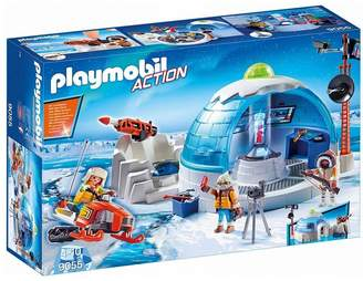 Playmobil 9055 Action Arctic Expedition Headquarters