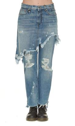 R 13 Double Classic Jeans