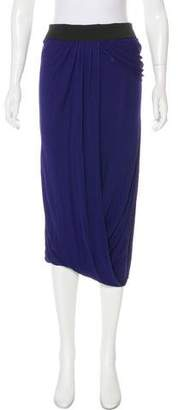 Yigal Azrouel Draped Midi Skirt