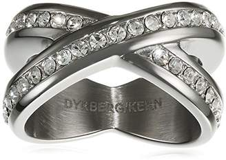 Dyrberg/Kern Women'S-Funny Clown Ring Stacker 15/02 Nagyz Iii Ss Crystal - 337982 Crystal