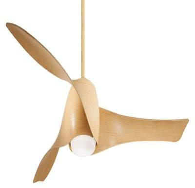 Minka Aire Minka-Aire Artemis 58-Inch Single-Light Ceiling Fan in Maple