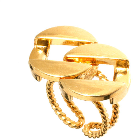 Gogo Philip Chain Link Ring