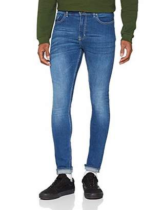 New Look Men's 5904189 Skinny Jeans, (Bright Blue), W30/L32 (Size:30R)