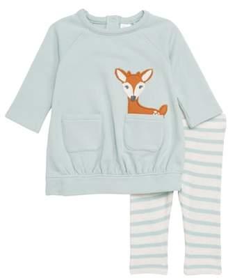 Nordstrom Sweatshirt Dress & Leggings Set