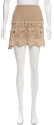 Hanley Mellon Crochet Mini Skort w/ Tags
