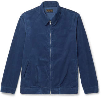 Beams Cotton-Blend Corduroy Blouson Jacket