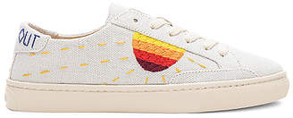 Soludos Embroidered Sun Sneaker