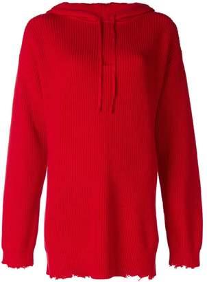 RtA knitted hoodie