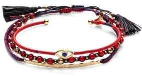 Tai 3-Piece Evil Eye Bracelet Set