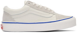 Vans Ivory OG Old School LX Sneakers $65 thestylecure.com