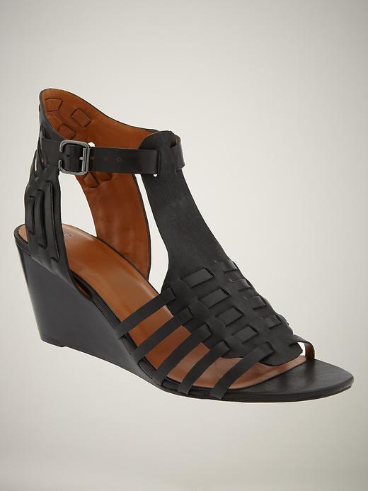 Gap Gladiator wedge sandal