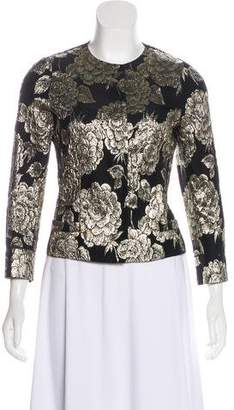 Dolce & Gabbana Metallic Jacquard Jacket