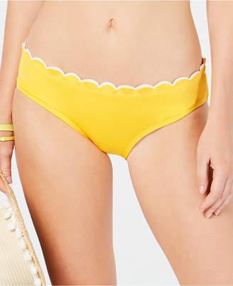 Kate Spade Scalloped Hipster Bikini Bottoms
