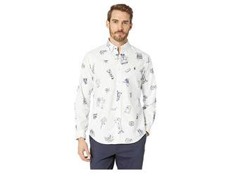 Polo Ralph Lauren Printed Oxford Long Sleeve Classic Fit Sport Shirt
