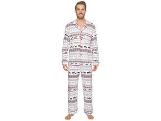 BedHead Long Sleeve Classic Pajama Set Men's Pajama Sets