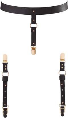Bijoux Indiscrets Maze Suspender Belt & Garter Straps