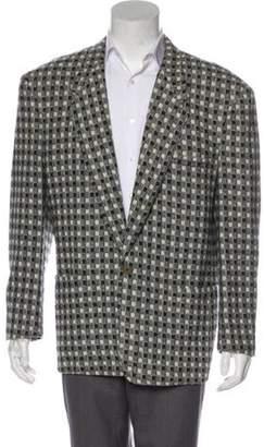 Gianni Versace Wool & Cashmere Blazer wool Wool & Cashmere Blazer