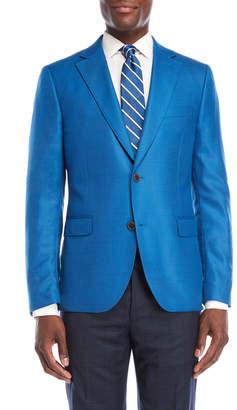 Ibiza Bright Blue Woven Sport Coat