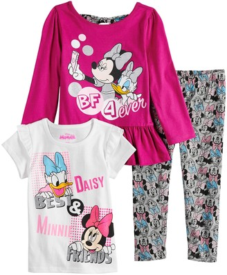f741973b3 Disneyjumping Beans Disney's Minnie Mouse & Daisy Duck Toddler Girl  Long-Sleeve & Short-