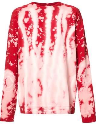 Faith Connexion bleached sweatshirt