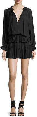 Rails Kingsley Dress w/ Tiered Ruffle Skirt