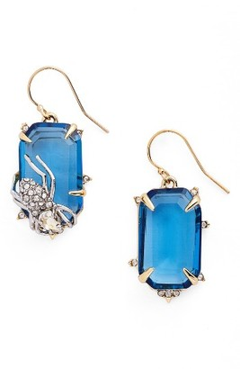 Women's Alexis Bittar Encrusted Spider Drop Earrings $225 thestylecure.com