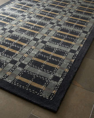 Martha Stewart Kevin Plaid Rug, 4' x 6'
