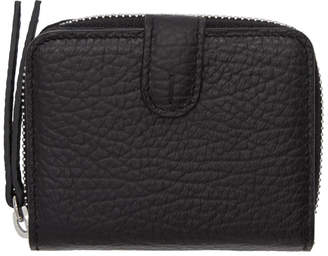 Maison Margiela Black Small Grained Wallet