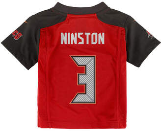 Nike Babies' Jameis Winston Tampa Bay Buccaneers Game Jersey $45 thestylecure.com
