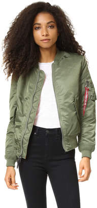 ONE by Alpha Industries Bomber Jacket $140 thestylecure.com