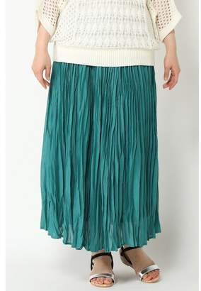 Ikka (イッカ) - [ikka]ボイルプリーツマキシスカート