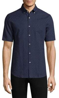 Vilebrequin Ben Polkadot Classic Fit Button-Down