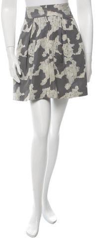 Kate SpadeKate Spade New York Abstract Print Mini Skirt